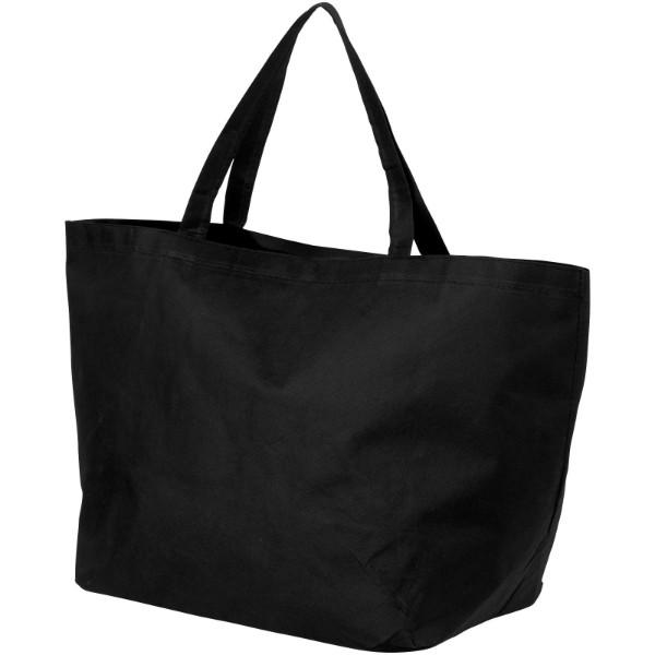 Netkaná nákupní taška Maryville - Černá