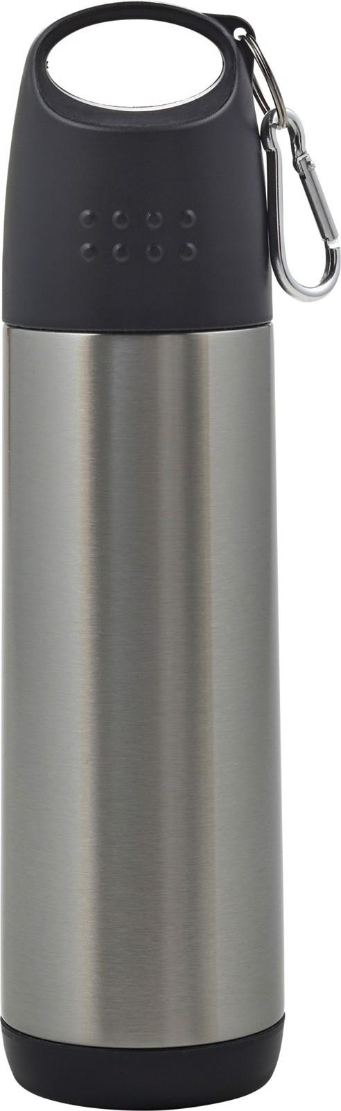 Aluminium double walled bottle - Silver