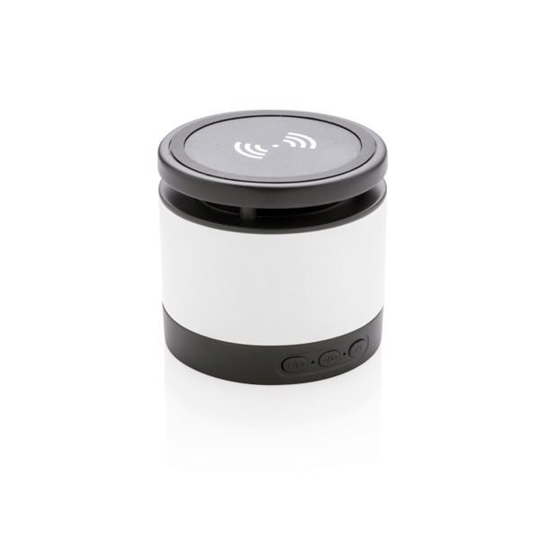 Bezdrátový reproduktor a nabíječka - Bílá / Černá