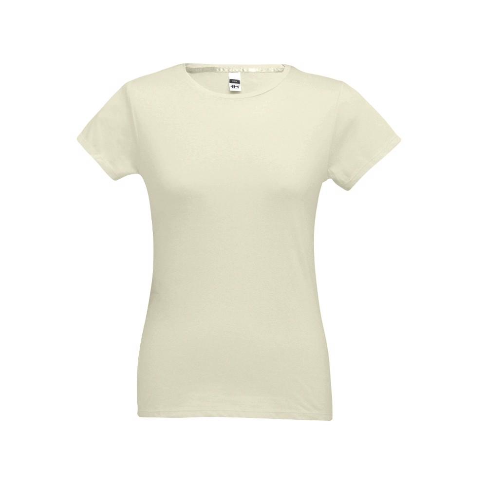 SOFIA. Dámské tričko - Pastelově Žlutá / XXL