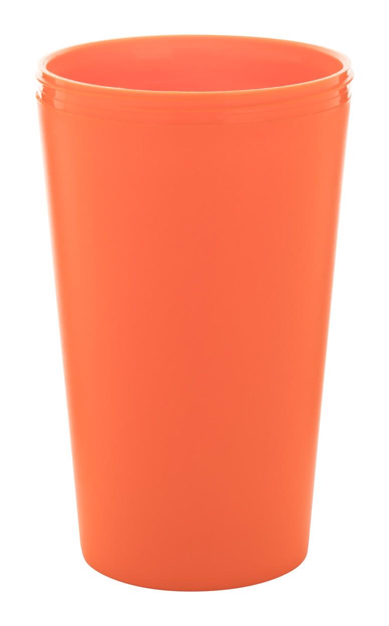 Termo Hrnek Na Zakázku CreaCup - Oranžová / B