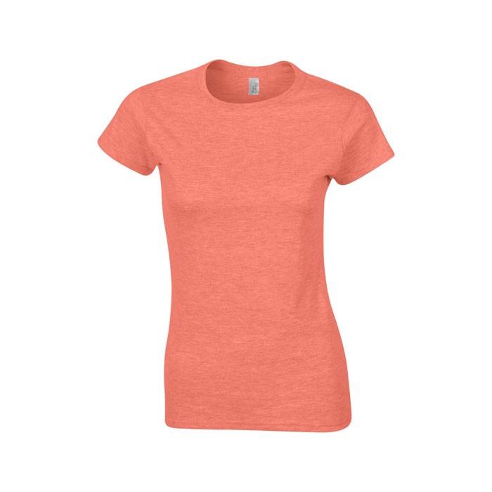 Ladies t-shirt 150 g/m² Lady-Fit Ring Spun 64000L - Heather Orange / XL