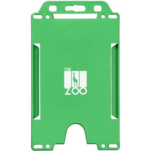 Pierre badge holder - Green