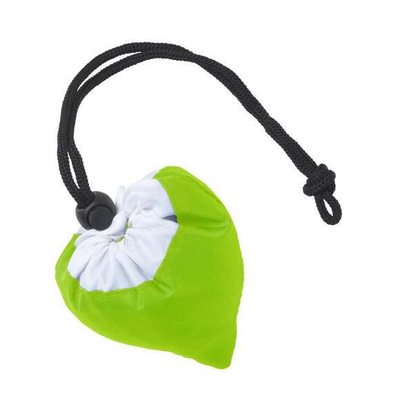 Strawberry foldable bag - Lime