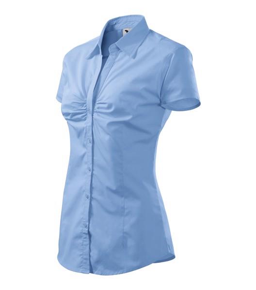 Košile dámská Malfini Chic - Nebesky Modrá / 2XL