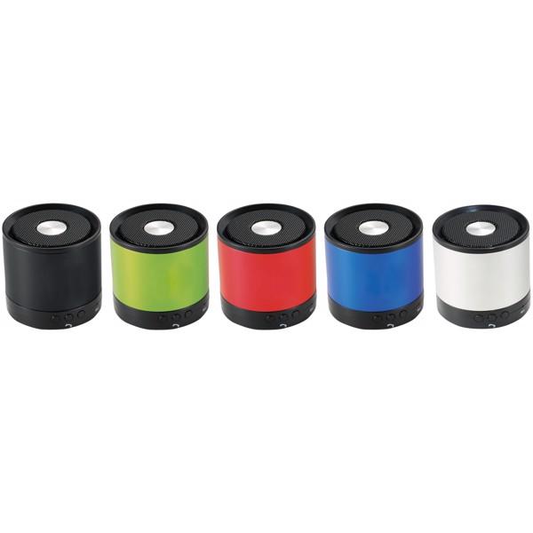 Hliníkový reproduktor Bluetooth® Greedo - Stříbrný