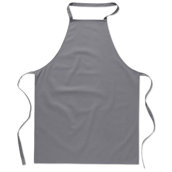 Kitchen apron in cotton Kitab - Grey