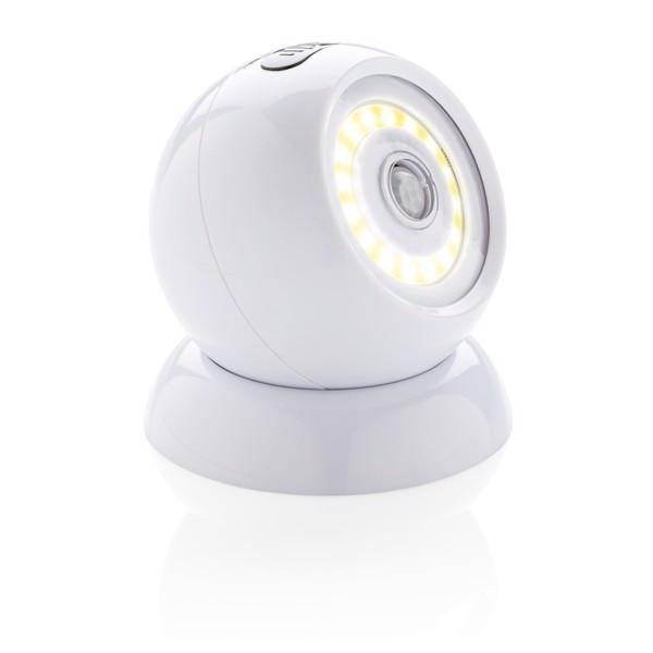 COB 360 lámpa mozgásérzékelővel