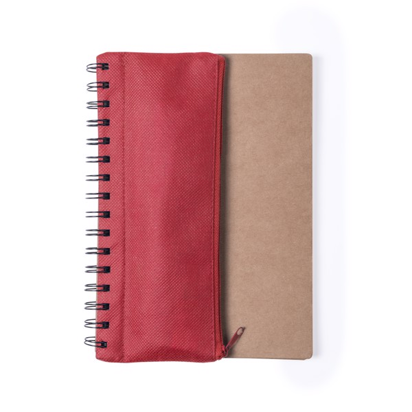 Caderno Mosku - Vermelho