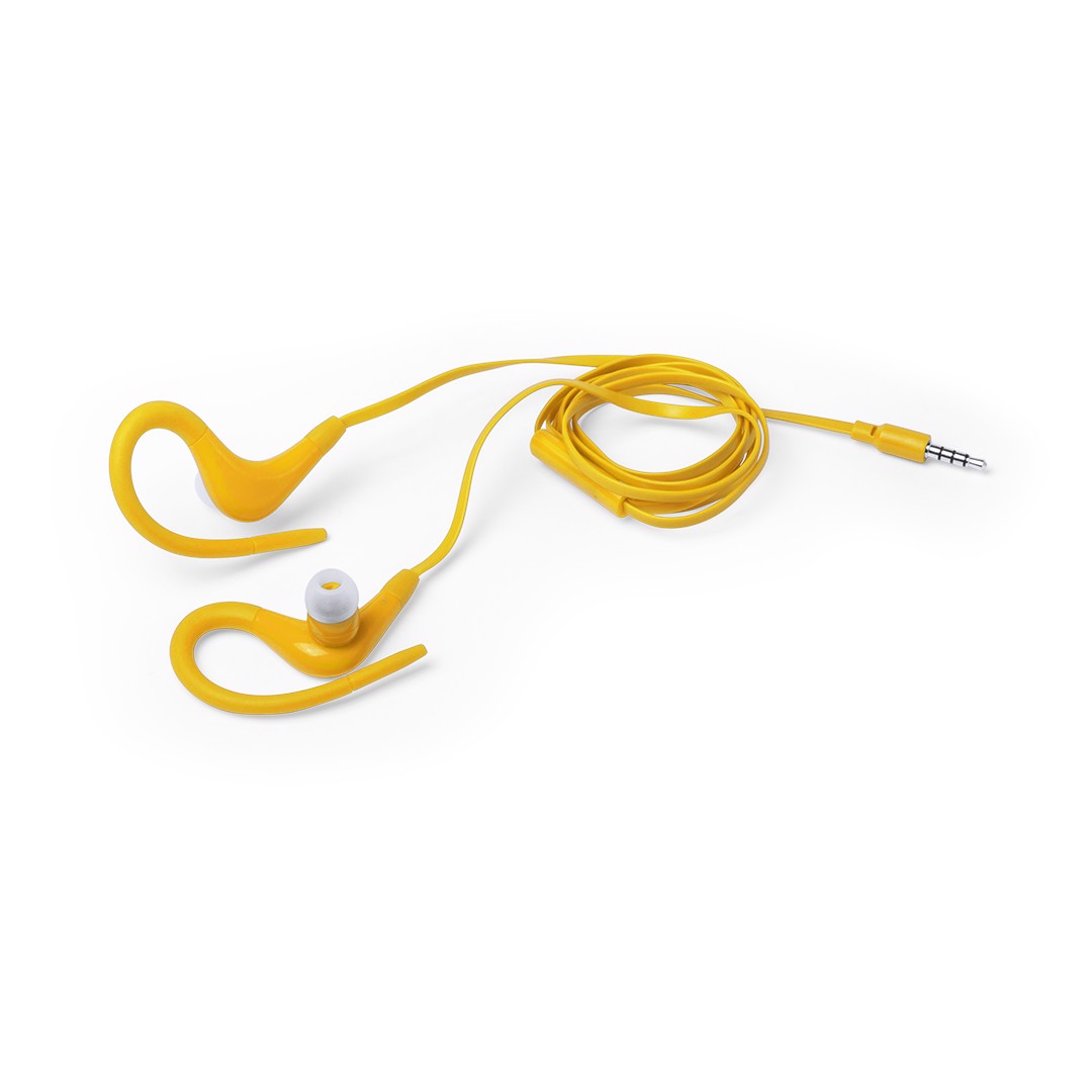 Auriculares Roymed - Amarillo