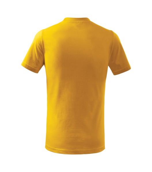 Tričko dětské Malfini Basic Free - Žlutá / 110 cm/4 roky