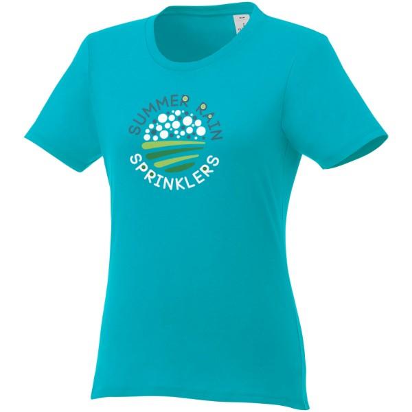 Heros short sleeve women's t-shirt - Aqua / XL
