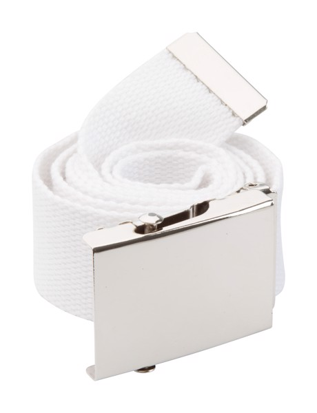 Belt Look - White / Silver