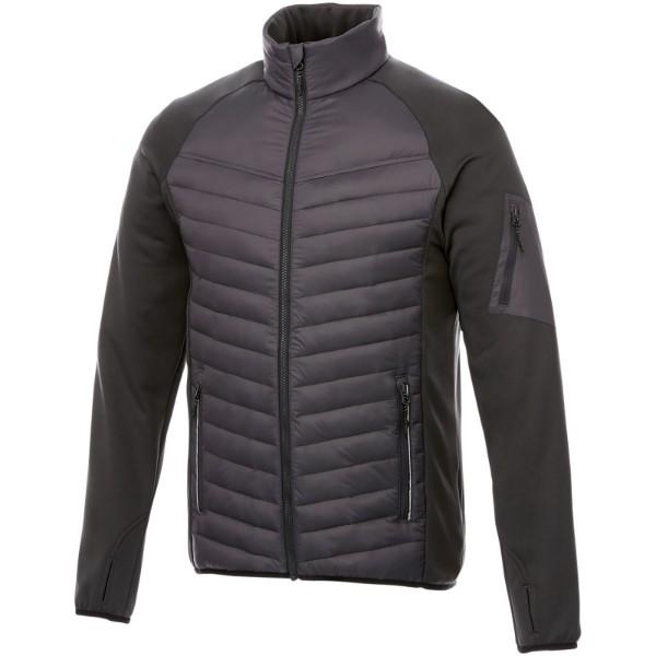 Banff men's hybrid insulated jacket - Storm Grey / M