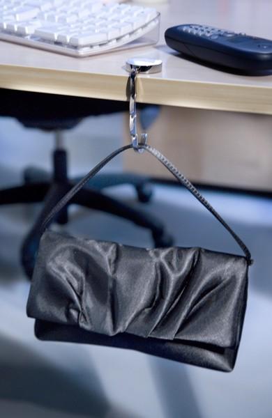 Metal bag hook - Black