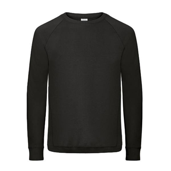 Sweatshirt B&C Reef Men 240G - 80% Algodão / 20% Poliéster - Preto / L