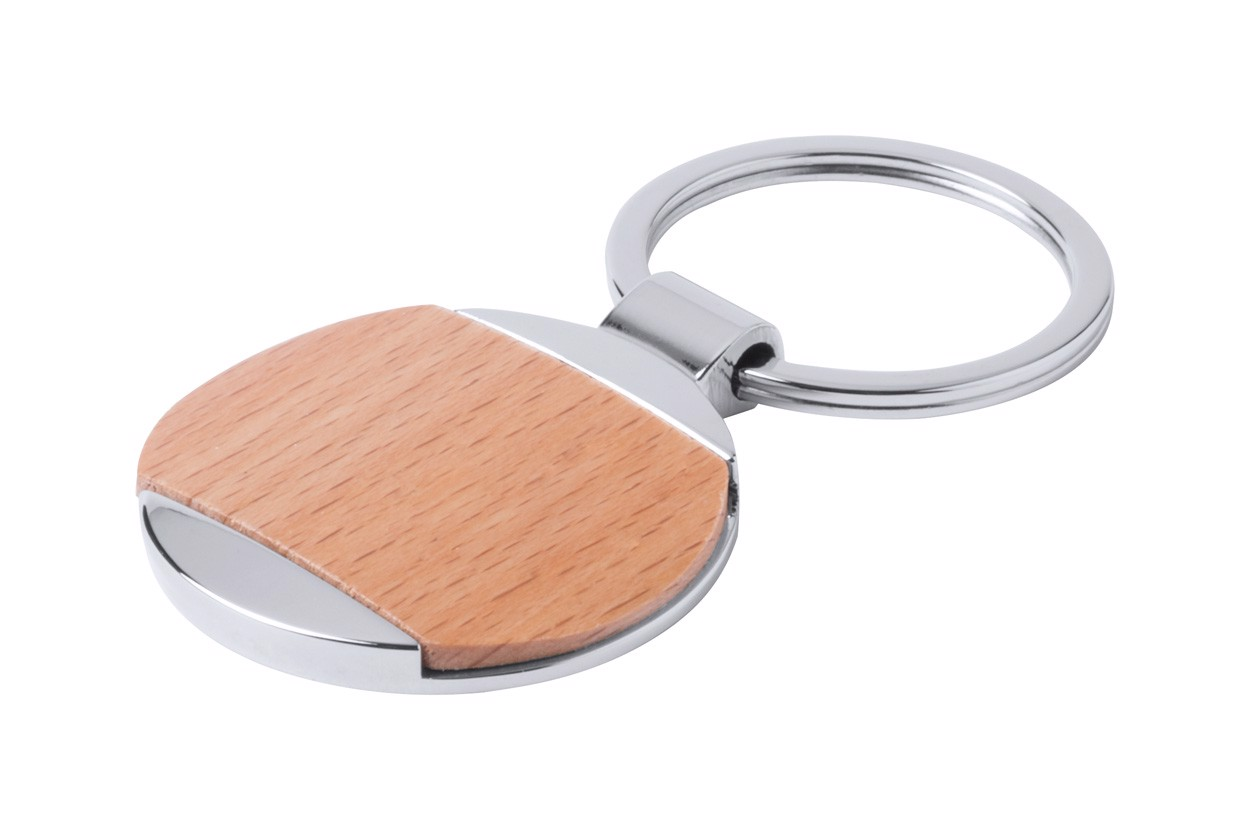 Přívěšek Na Klíče Vitolok - Hnědá