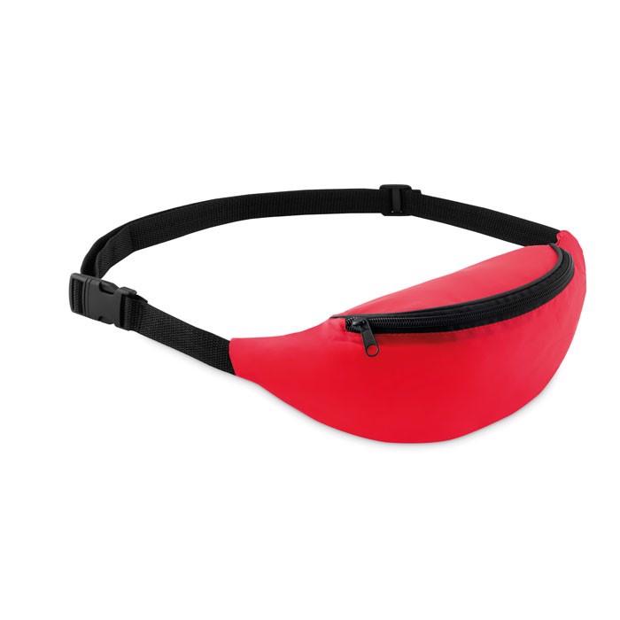 Fanny bag in 210D polyester Parkbag - Red