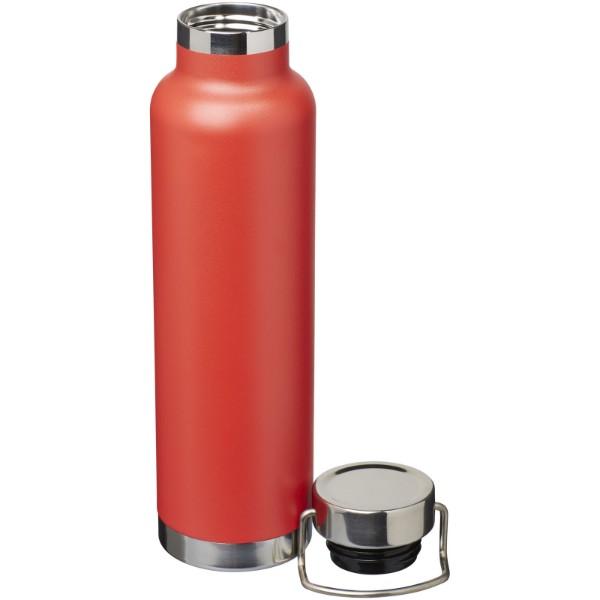 Vakuová termoláhev Thor - Červená s efektem námrazy
