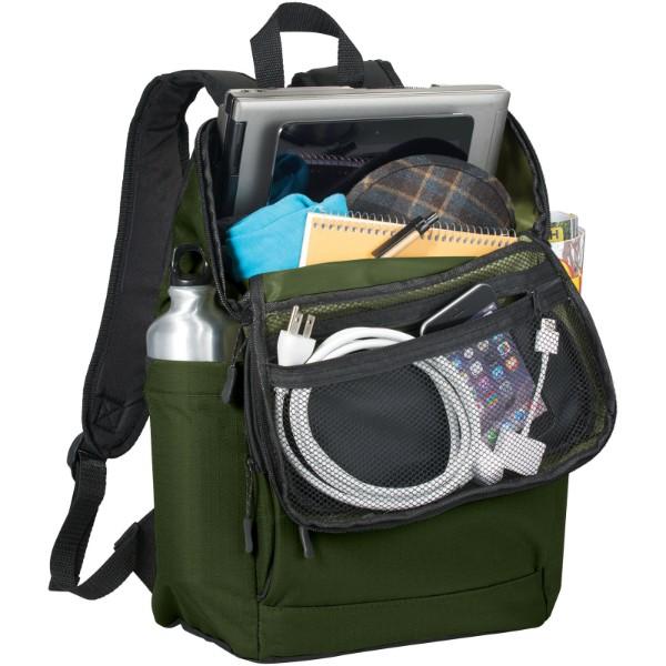 """Manchester 15.6"""" laptop backpack - Olive"""
