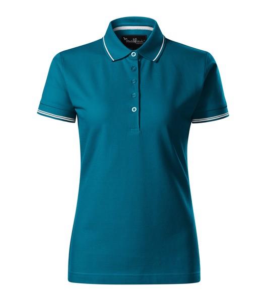 Polo Shirt women's Malfinipremium Perfection plain - Petrol Blue / XL