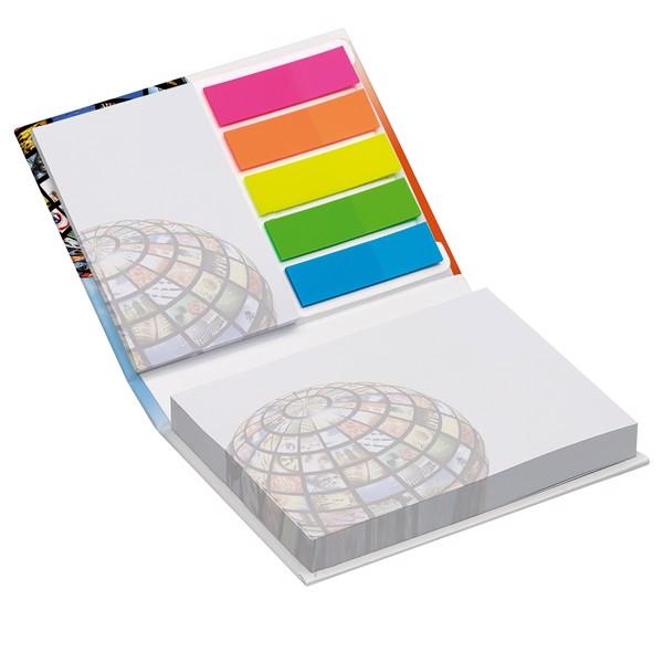 Set samolepilnih lističev ter lističev za označevanje strani Combi
