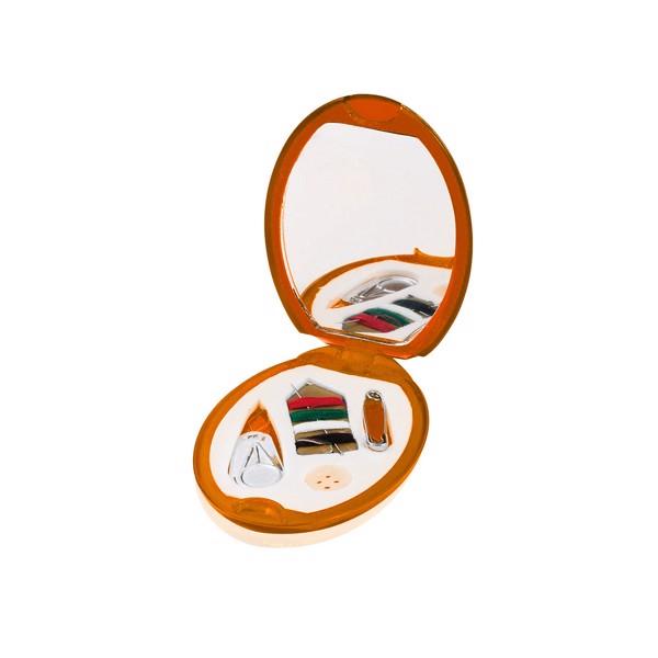 Espejo Costura Lira - Naranja