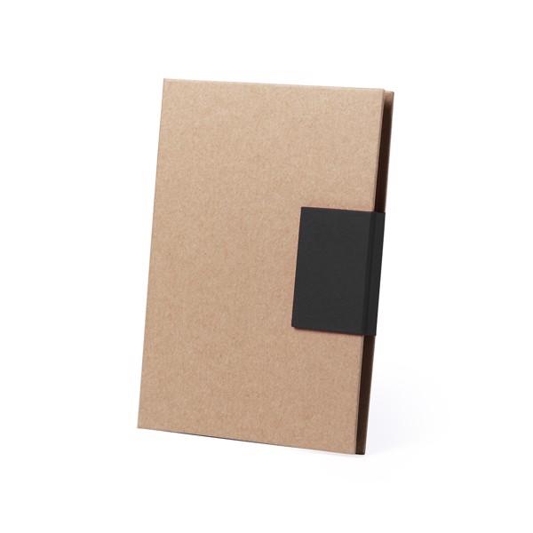 Sticky Notepad Ganok - Black