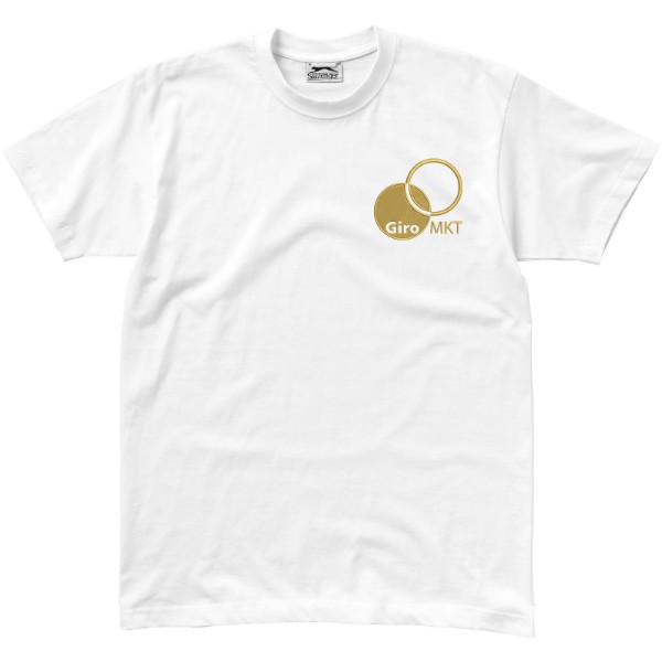 Return Ace short sleeve unisex t-shirt - White / M