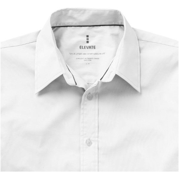 Hamilton langärmliges Hemd - Weiss / XS