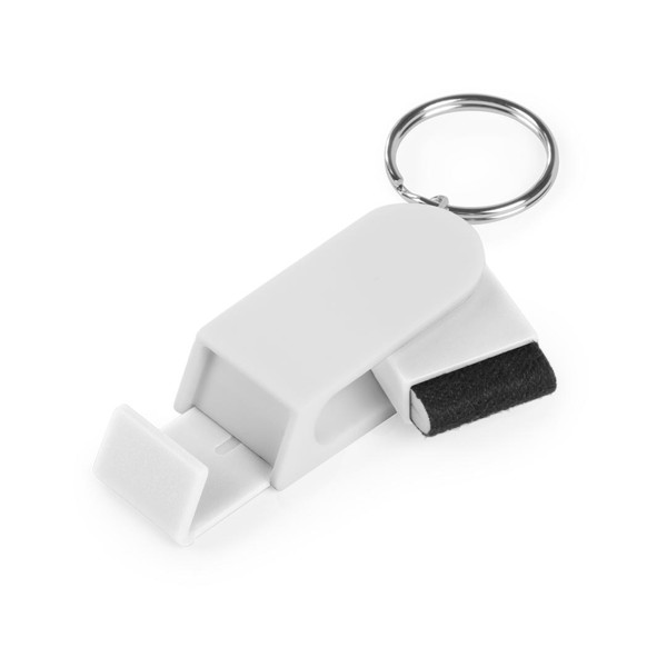 Holder Keyring Satari - White