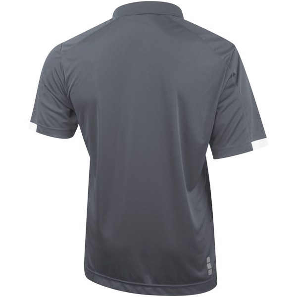 Kiso short sleeve men's cool fit polo - Steel grey / XS