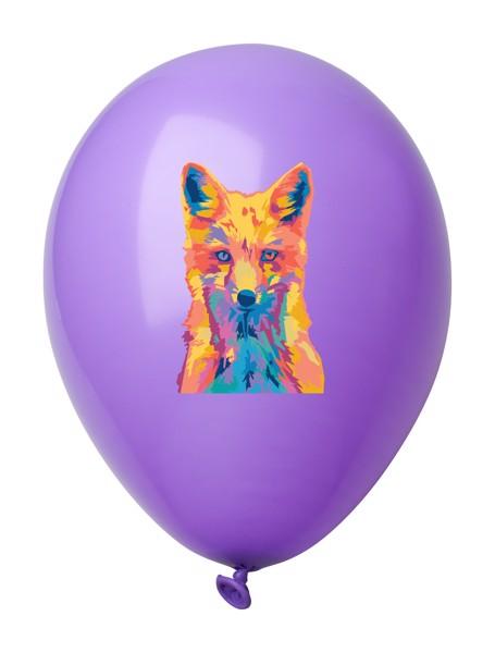 Balonky V Pastelových Barvách CreaBalloon - Fialová