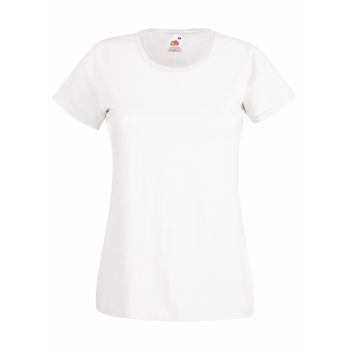 Lady-Fit T-Shirt 160 g/m² Lady-Fit Value Weight 61-372-0 - White / XS