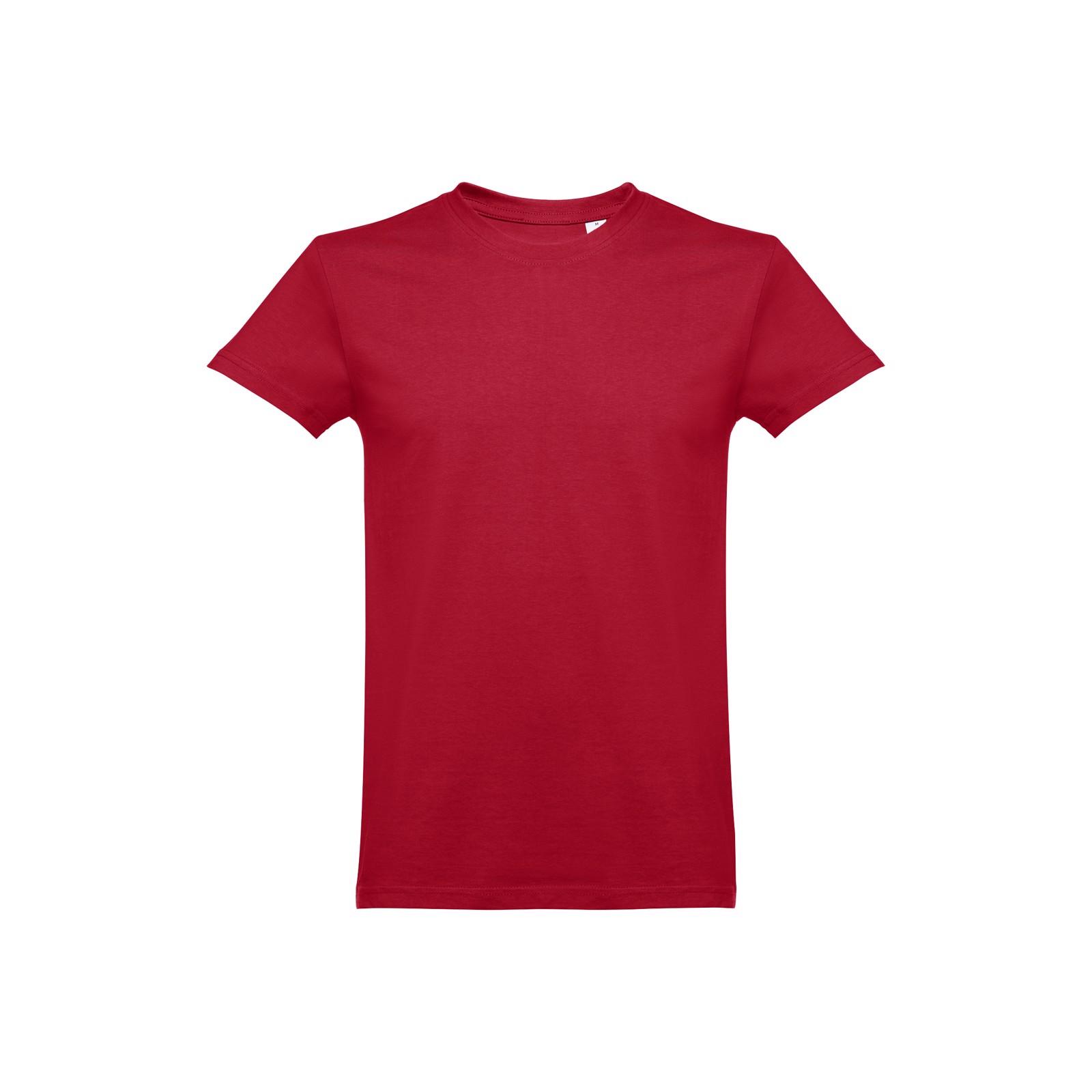 ANKARA. Pánské tričko - Bordó / M