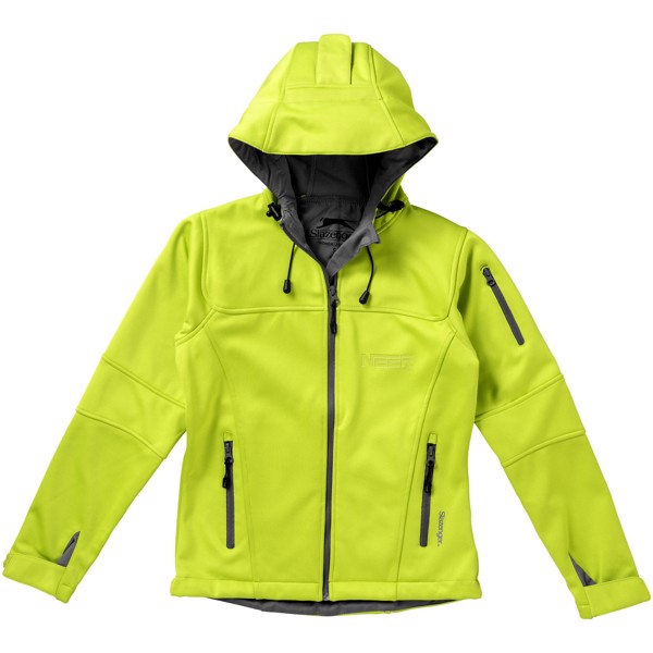 Dámská softshellová bunda Match - Světle zelená / L