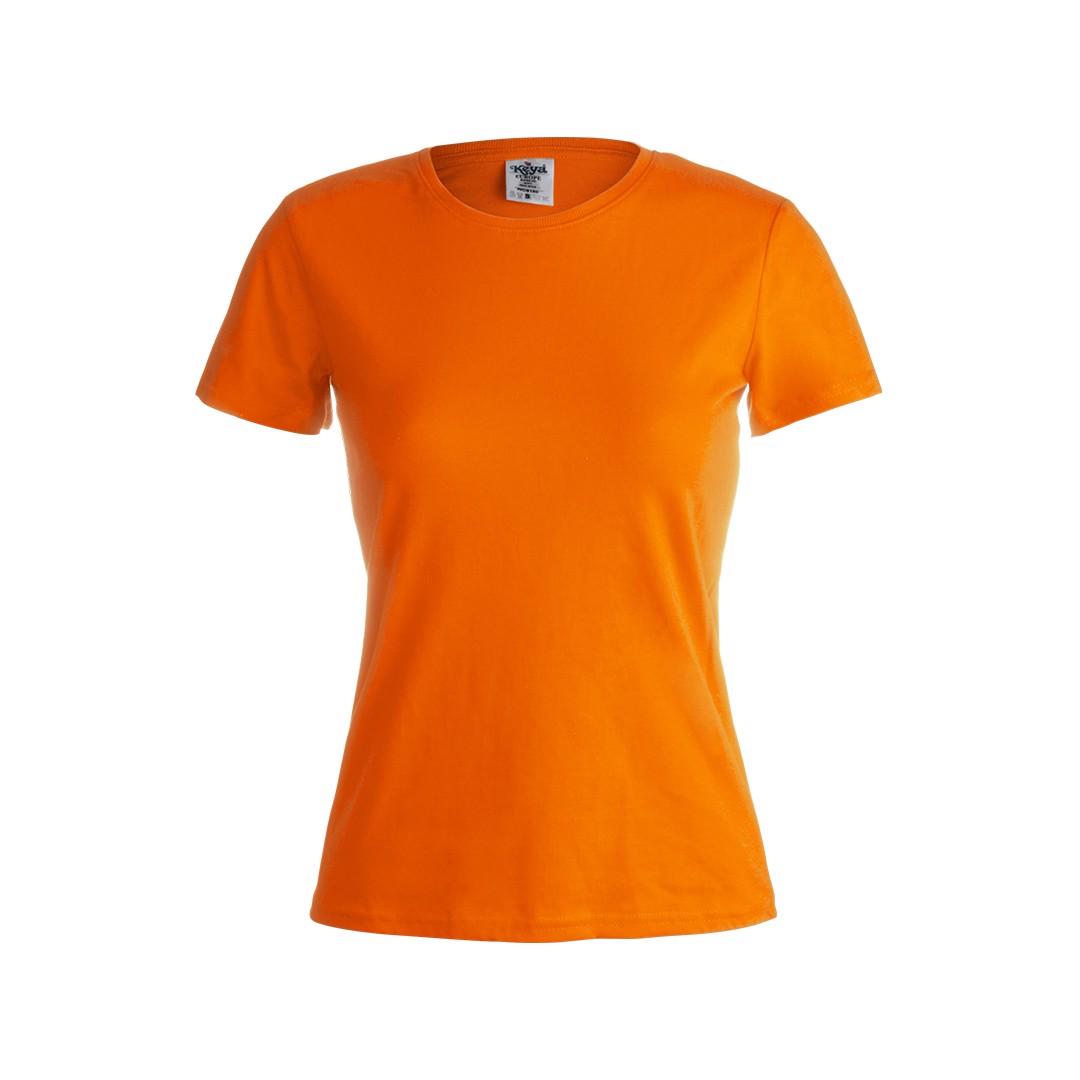 """Camiseta Mujer Color """"keya"""" WCS180 - Naranja / S"""