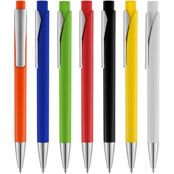 Długopis z kwadratowym korpusem Pavo - Błękit Królewski