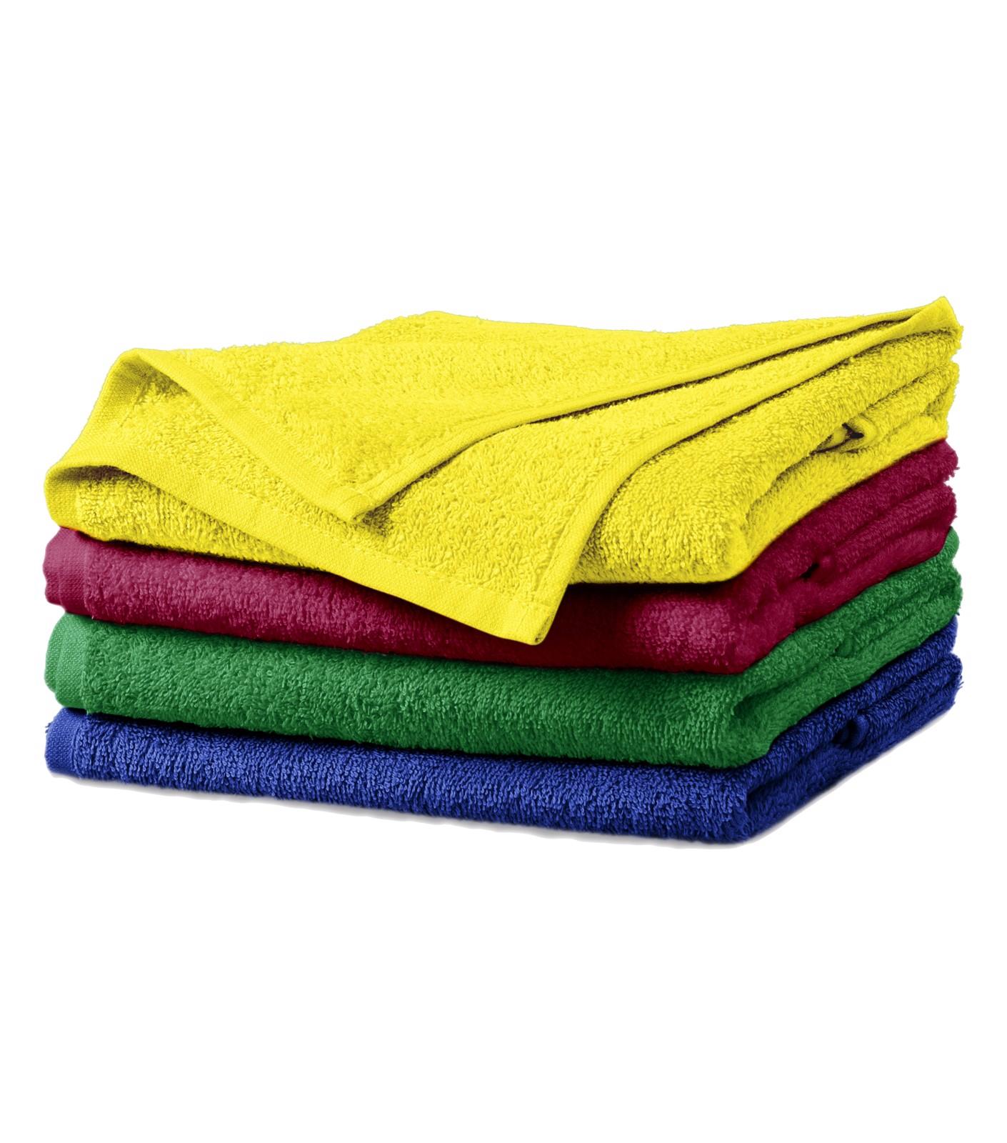 Ručník unisex Malfini Terry Towel - Citronová / 50 x 100 cm