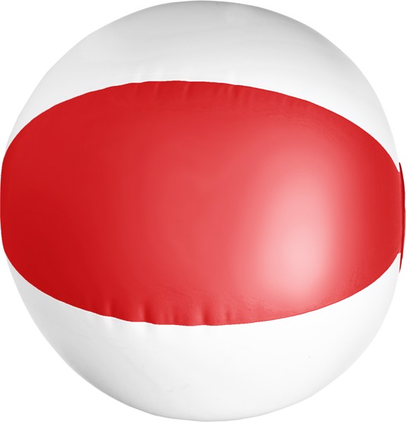 PVC beach ball - Red