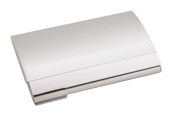 Business Card Holder Dome - Silver