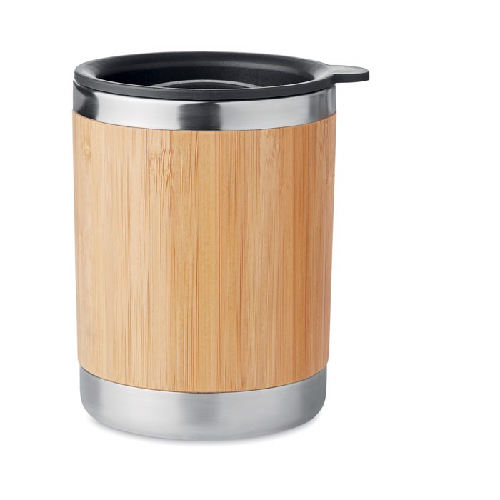 Lonček iz nerjavečega jekla in bambusa 250 ml Lokka
