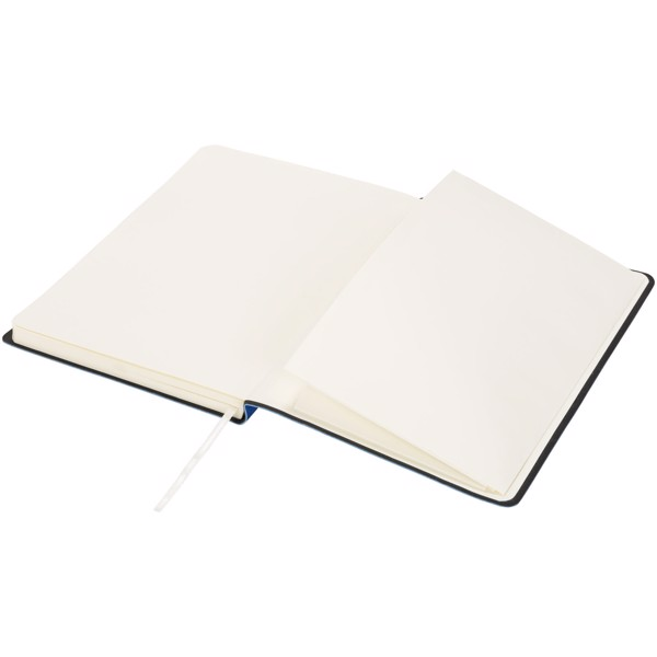 Liberty soft-feel notebook - Blue