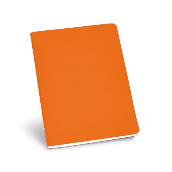 ECOWN. Poznámkový blok A5 - Oranžová