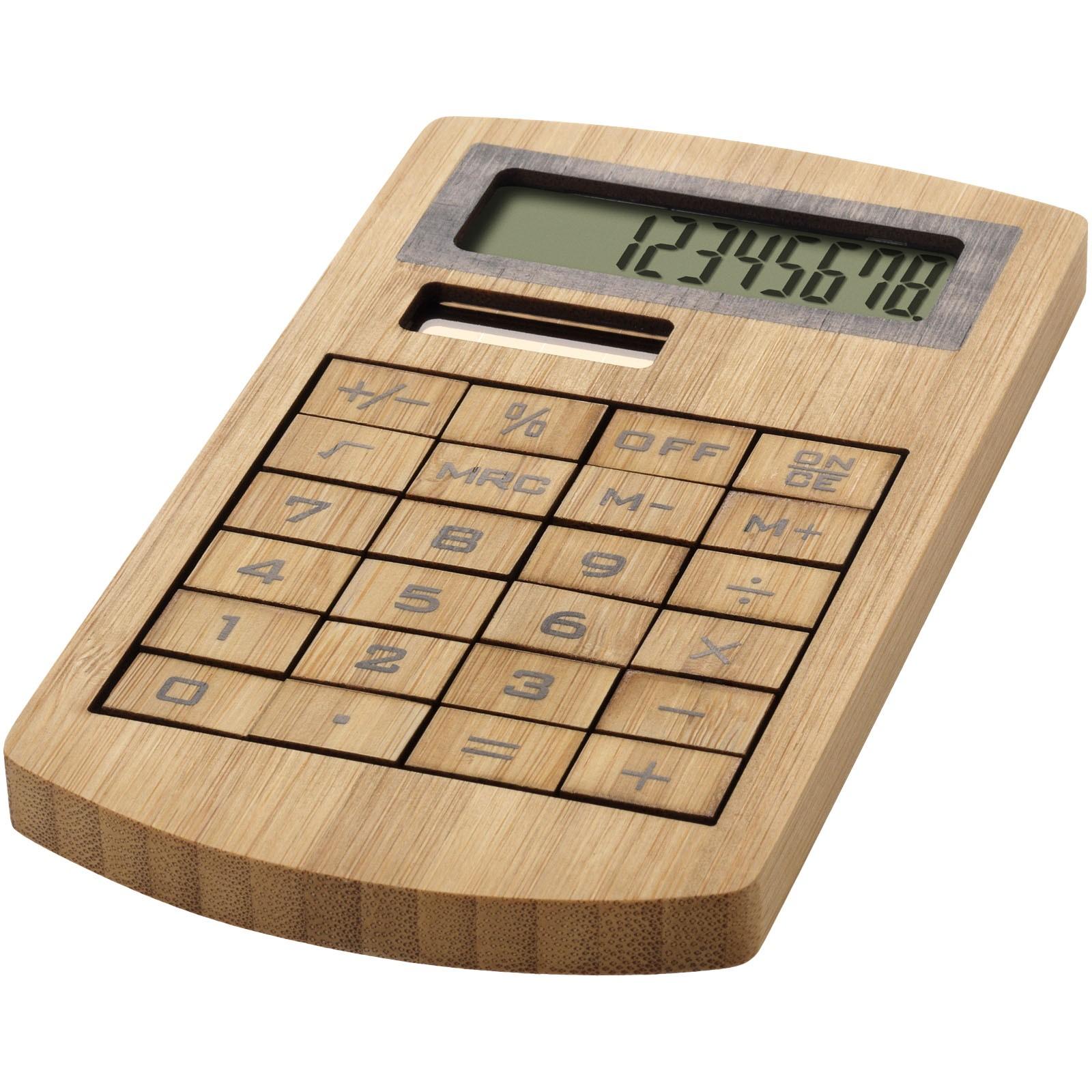 Bambusová kalkulačka Eugene