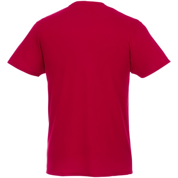 Jade short sleeve men's GRS recycled T-shirt - Red / XL