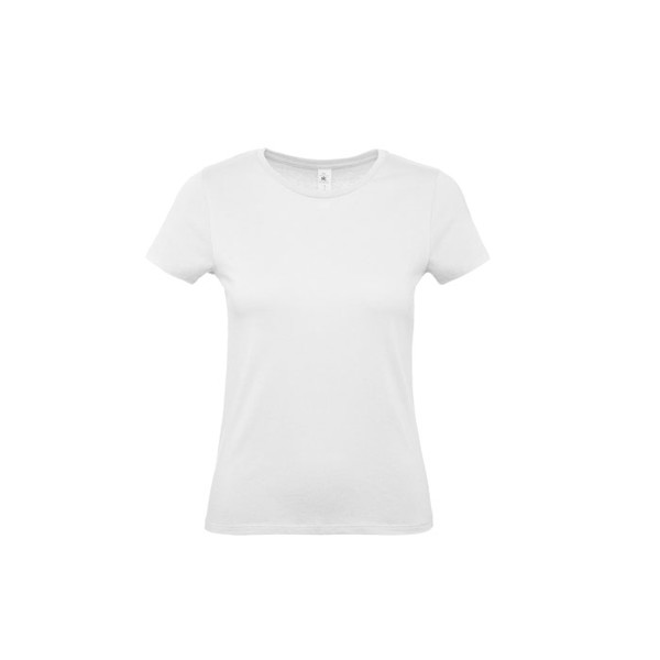 T-shirt female 145 g/m² #E150 /Women T-Shirt - White / M