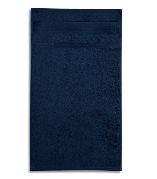 Osuška unisex Malfini Organic - Námořní Modrá / 70 x 140 cm