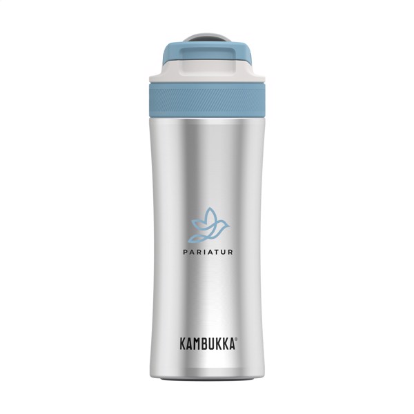 Kambukka® Lagoon Insulated 400 ml drinking bottle - Silver