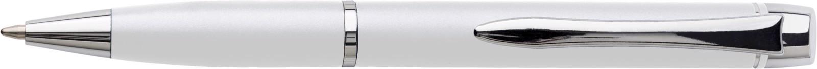 Metal ballpen - White